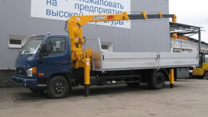 Сдам в аренду манипулятор на базе Hyundai HD 78 - Южно-Курильск